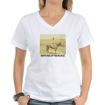 Prairie Sentinel Women's V-Neck T-Shirt