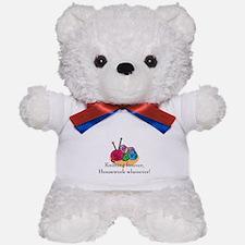 Knitting Teddy Bear