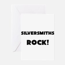 Silversmiths ROCK Greeting Cards (Pk of 10)