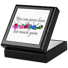 Yarn Keepsake Box