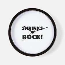 Shrinks ROCK Wall Clock