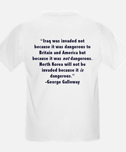 I Heart George Galloway (+Quote) Kids T-Shirt