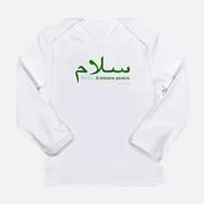 Relax It Means Peace | Long Sleeve T-Shirt
