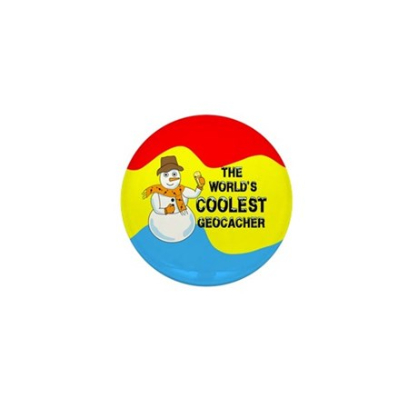 World's Coolest Geocacher Mini Button (10 pack)