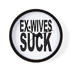 Ex-Wives Suck Wall Clock