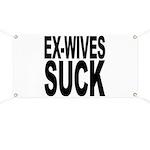 Ex-Wives Suck Banner