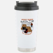 Hockey Season Travel Mug
