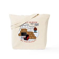 Hockey Season Tote Bag