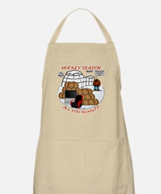 Hockey Season BBQ Apron