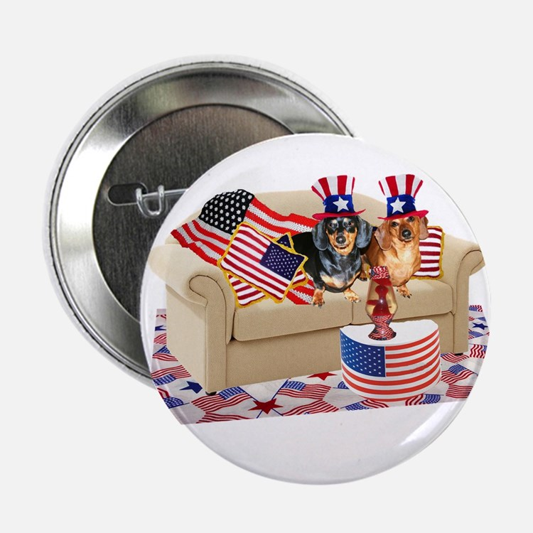 """USA Dogs 2.25"""" Button (10 pack)"""