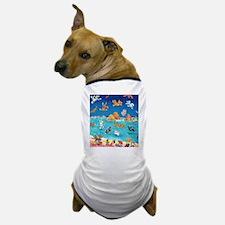 Raining Cats & Dogs in Lanikai Dog T-Shirt