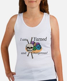 Yarned and Dangerous Women's Tank Top