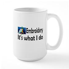 Embroidery Mug