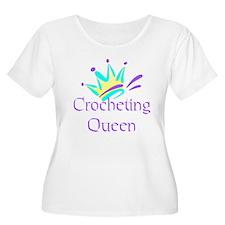 Crocheting Queen T-Shirt