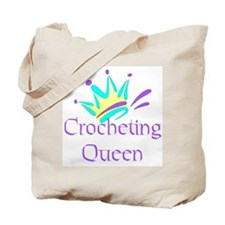 Crocheting Queen Tote Bag