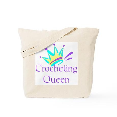 Crocheting Queen Tote Bag