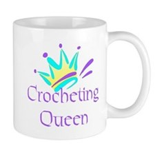 Crocheting Queen Small Mug