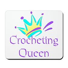 Crocheting Queen Mousepad