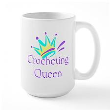 Crocheting Queen Mug