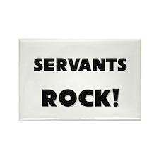 Servants ROCK Rectangle Magnet