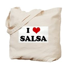 I Love SALSA Tote Bag