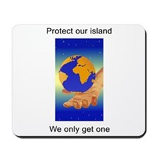Protect Earth Mousepad