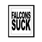 Falcons Suck Framed Panel Print