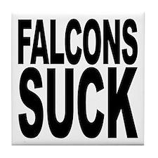 Falcons Suck Tile Coaster