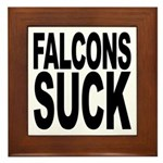 Falcons Suck Framed Tile