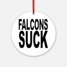 Falcons Suck Ornament (Round)