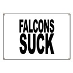 Falcons Suck Banner