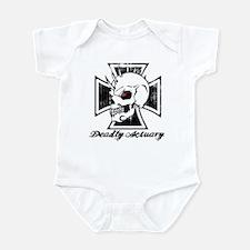 Deadly Skull Actuary Infant Bodysuit