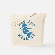 Beach Weekend Mermaid Tote Bag