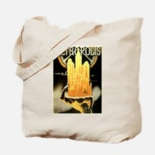 Worker Supporting City Tote Bag