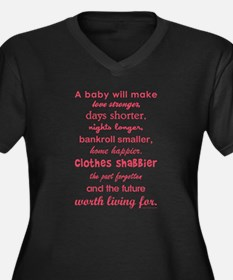 A BABY WILL... Plus Size T-Shirt
