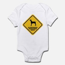 Doberman Pinscher Infant Bodysuit
