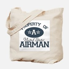 Property of a United States A Tote Bag