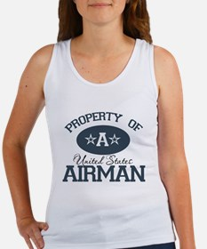 Property of a United States A Women's Tank Top