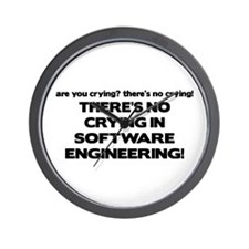 There's No Crying in Software Engineering Wall Clo
