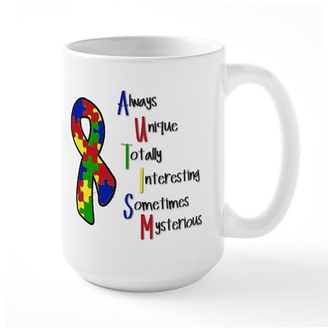 Autism Awareness Large Mug