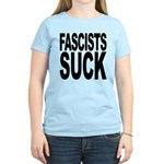 Fascists Suck Women's Light T-Shirt