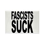 Fascists Suck Rectangle Magnet