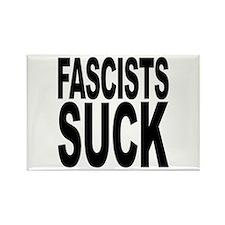 Fascists Suck Rectangle Magnet