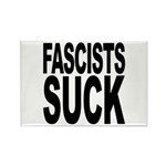 Fascists Suck Rectangle Magnet (10 pack)