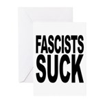 Fascists Suck Greeting Cards (Pk of 10)