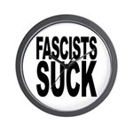 Fascists Suck Wall Clock