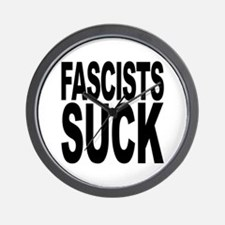 Fascists Suck Wall Clock