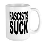 Fascists Suck Large Mug