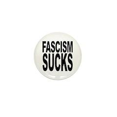 Fascism Sucks Mini Button