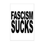 Fascism Sucks Mini Poster Print